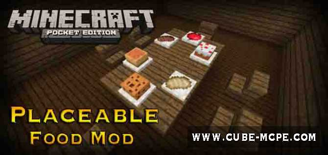 Мод Placeable Food 1.6/1.5/1.4