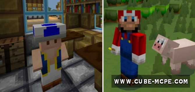 Текстуры New Super MarioCraft [16×16] 1.2.13/1.2.11