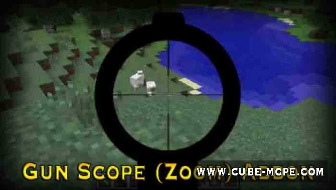 Мод Gun Scope (Zoom) 1.2.13