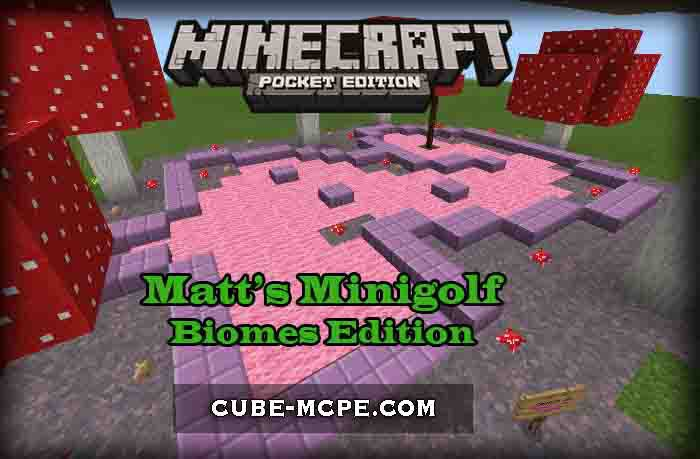 Карта Matt's Minigolf: Biomes Edition [Мини игра]
