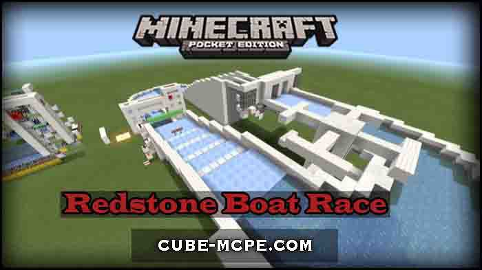 Карта Redstone Boat Race [Мини игра][Механизмы]