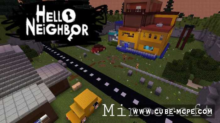 Hello Neighbor In Minecraft [Мини-игра, Головоломка, Хоррор]