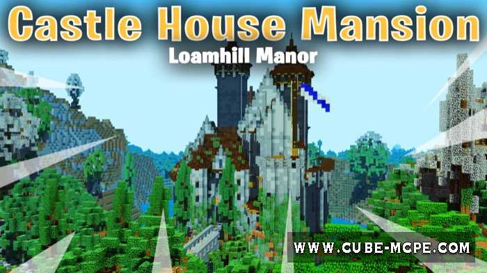 Карта SG Castle House Mansion – Loamhill Manor [Творчество]
