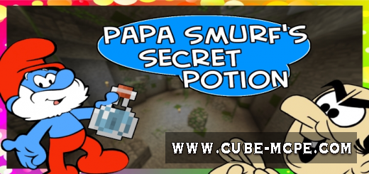 Карта Papa Smurf's Secret Potion [Приключения]