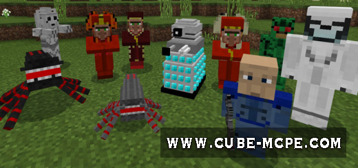 Мод Doctor Who Mobs 1.9