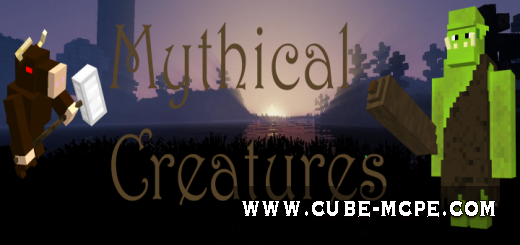 Мод Mythical Creatures 1.12