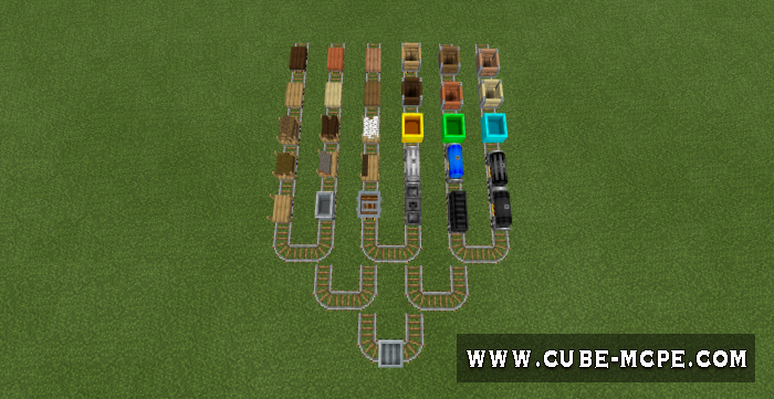 Мод Rail Craft 1.11