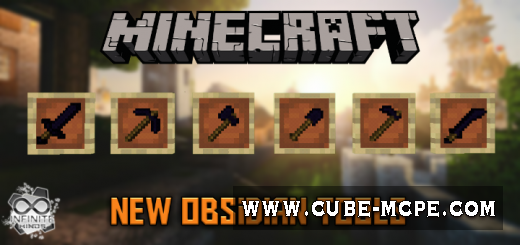 Мод Obsidian Tools 1.12