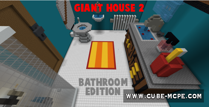 Карта Giant House 2: Bathroom Edition [Паркур]