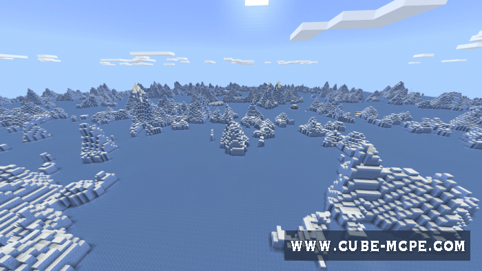 Мод Endless Ice Biome Pack 1.12