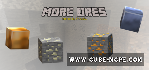 Мод More Ores Update 1.13