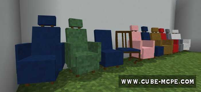 Мод CHAIRS Plus SCARY Salesmen 1.14