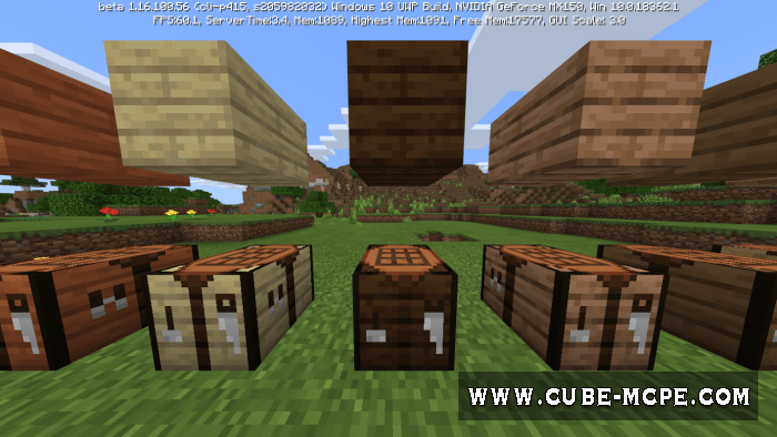 Мод More Crafting Tables 1.16