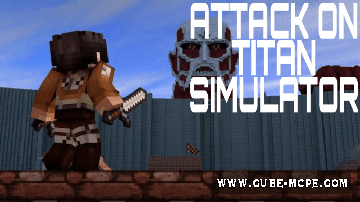 Мод Attack On Titan Simulator 1.16.201