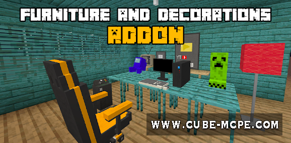 Мод Furniture and Decorations 1.16